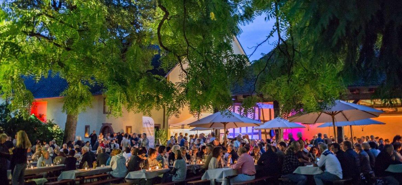 Sommerfest auf dem Weingut von Gleichenstein